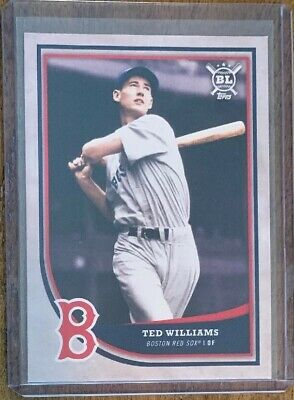 2018 Topps Big League Baseball #338 Ted Williams Boston Red Sox HOF Hall Of Fame
