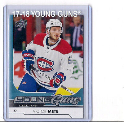 2017-18 Upper Deck Series 1 Victor Mete Young Guns #245 SP RC