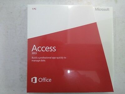 Microsoft Office Access 2013 Retail Version