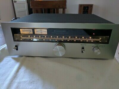 Vintage Kenwood Kt-6500 Am-Fm Stereo Tuner. 15W. Great Condition. All Original