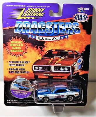 Johnny Lightning Dragsters USA Color Me Gone Collectors Edition