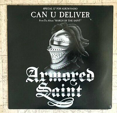 """*ARMORED SAINT-Can You Deliver PROMO 12"""" / AS1966 / Metal / March of the Saint*"""