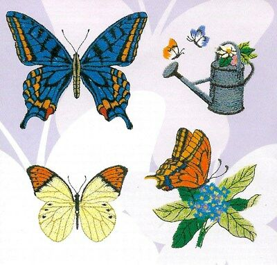 BUTTERFLY & GARDEN DESIGNS 47 Memory Card for Bern.Deco/Brother/Baby Lock (.pes)