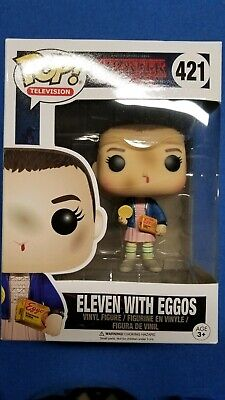 Pop Funko Stranger Things Eleven With Eggos Chase #421 Netflix Series