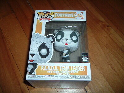 Funko Pop! P.a.n.d.a. Team Leader #515~ New~ Mint~ Fortnite Series~
