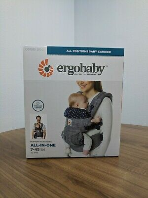 "NEW! Ergobaby OMNI 360 Baby Carrier - Premium Cotton - in ""Jacks"" Color"