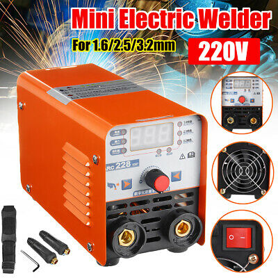 Digital Display ARC Force Stick Welder Inverter IGBT MMA Welding Machine 200A