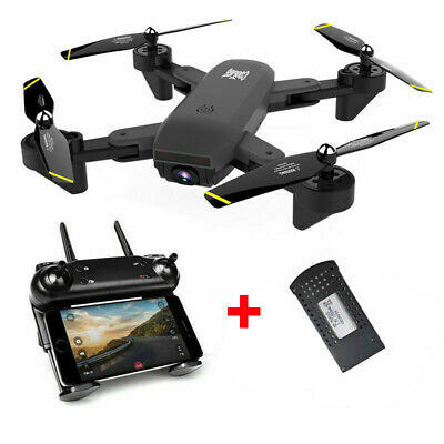 Cooligg S169 Drone Selfie WIFI FPV Dual HD Camera Foldable RC Quadcopter Toy USA
