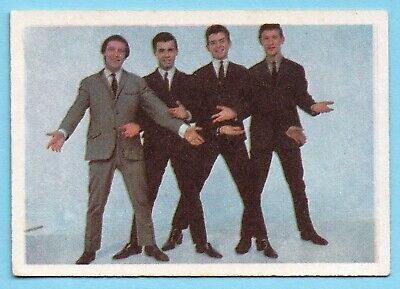 1964  A&BC Music Swap Card:  THE  DAKOTAS  (Card #50)