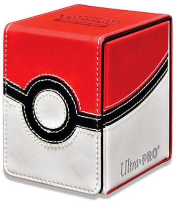 Ultra Pro Pokemon Pokeball Poke Ball Alcove Flip Tower Deck Box BRAND NEW!