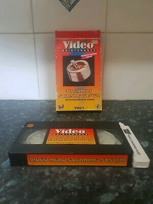 Vhs Head Cleaner video