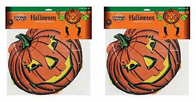 """Beistle 00442 Vintage Halloween Jointed Goblins 2 Piece, 30"""", Multicolored"""