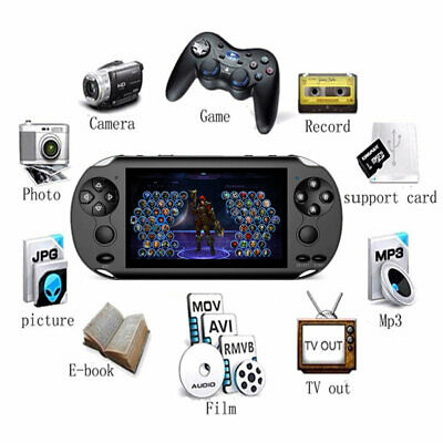 Handheld Portable X9 Video Game Console 128 Bit Built In 1000+Game Kids Player