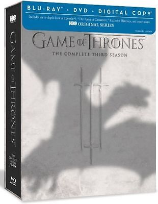 Game of Thrones: The Complete Third Season Blu-ray, DVD &Digital Copy 7-Disc Set