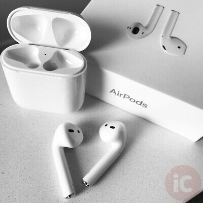 NEW AirPods 2nd Generation with Wireless Charging Case - White
