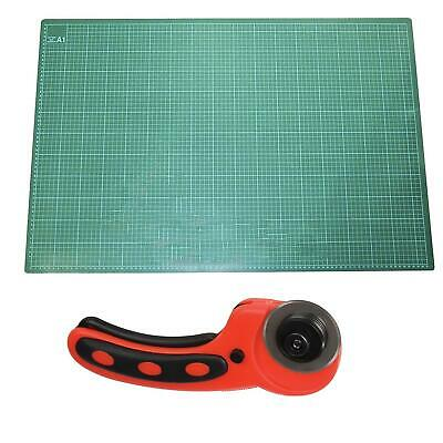 A1 Cutting Mat Self Healing & Rotary Cutter Knife Board Craft