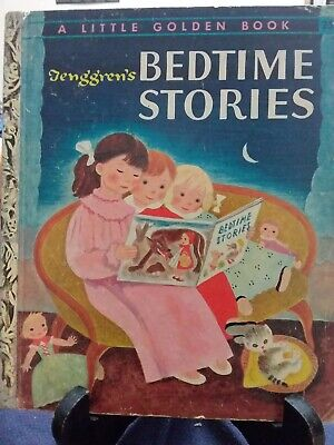 Tenggren's BEDTIME STORIES Little Golden Book 1942 New York #239 G/C