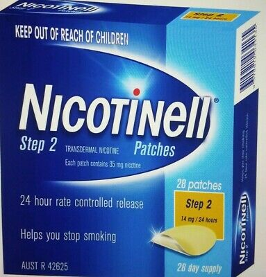 Nicotinell Step 2  28 Patches 14 MG/24 Hours 28 Day Supply