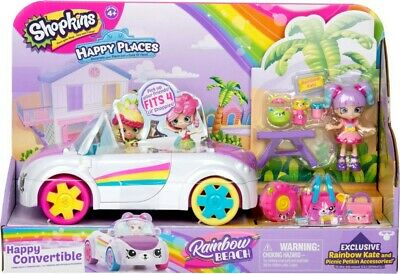 NEW Happy Places Shopkins S5 Happy Convertible from Mr Toys