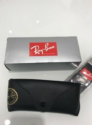 Ray-Ban Nero Box Astuccio originale per occhiali da sole o da vista Sunglasses