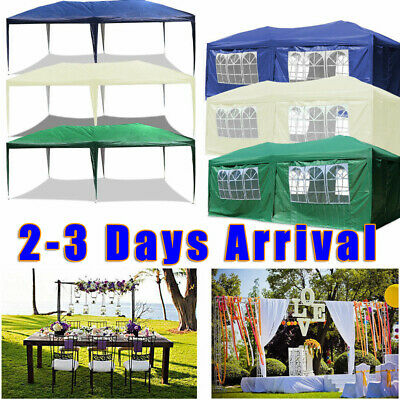 3Mx3M 3x4M 3X6M Party Tent Outdoor PE Garden Gazebo Marquee Canopy Awning 120g
