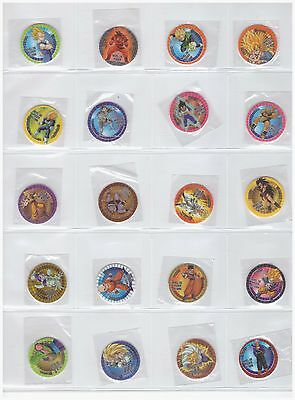 DRAGON BALL CHOCOPUNCH Coleccion Completa 30 tazos Cartas Cromos Complete Pogs