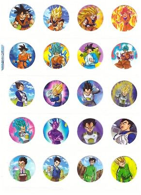 TAZOS DRAGON BALL SUPER Coleccion completa Cromos - Pogs Cartas Figuras Toys Set