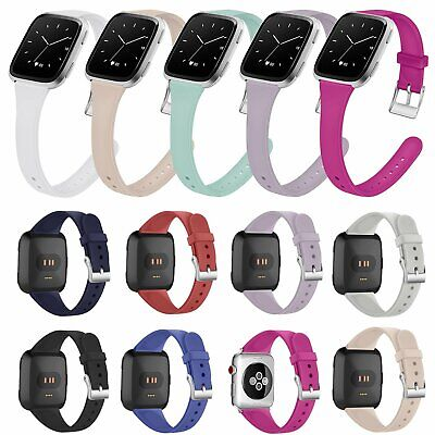 Silicone Wristband Band Bracelet Strap Replacement for Fitbit Versa & Versa Lite