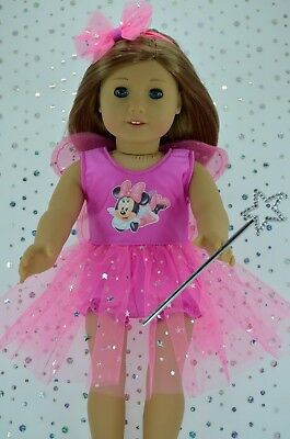 """Dolls Clothes 18"""" American Girl~Our Generation~Journey FAIRY~PANTS~HEADBAND~WAND"""