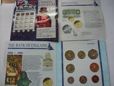 1994 UK United Kingdom Uncirculated Coin Collection Set