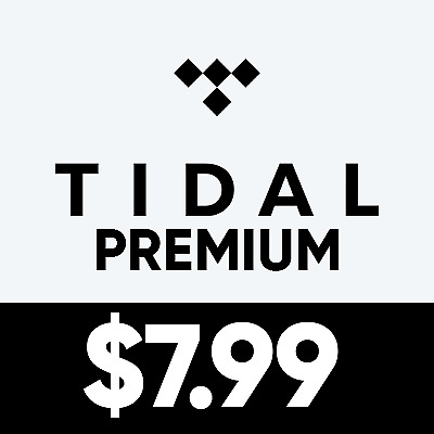 Tidal Premium Account | Lifetime Warranty | Fast Delivery | $7.99