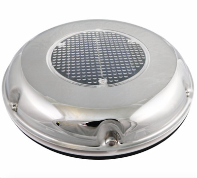 Solar Powered Stainless Roof Vent Boat