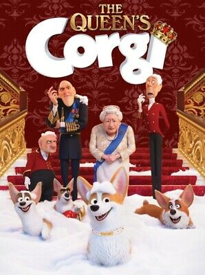 The Queen's Corgi  DVD. Sealed with free post.
