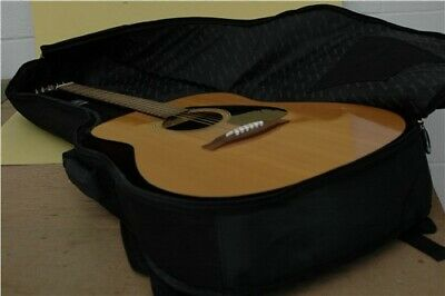 Yamaha F-310 Acoustic Guitar Six String Right Handed Light Wood Finish In Case