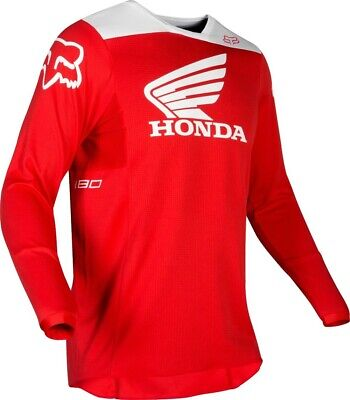 2019 Fox HONDA 180 Motocross MX Race Jersey RED Adult