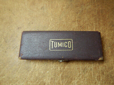 Older Tumico Dial Bore Gauge Tubular Micrometer Machinist Tool With Case