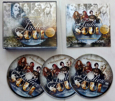 (DVD CD Musica) LADIES OF SOUL Live At The Ziggo Dome 2018 (Combi Pack 2CD+DVD)