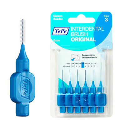 TePe Interdental Brush blue 0.6mm 6pcs