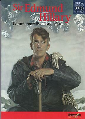 New Zealand  Pack Sir Edmund Hillary Commemorative Issue 1998 Very Scarce