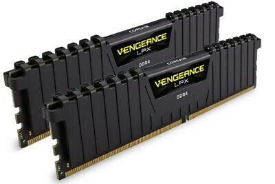 Corsair Vengeance LPX 16GB (2x8GB) DDR4 3200MHz C16 Desktop Gaming Memory Black