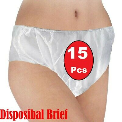 15 pcs Maternity/Pregnancy Knickers Disposable Hospital Briefs Pants Bikini UK