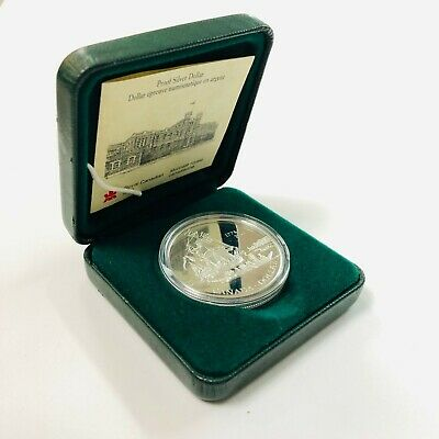1999 225th Anniversary of the Voyage of Juan Perez Canada Silver Proof Dollar
