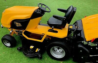 """Countax / Jcb D20/50 Diesel Ride On Lawn Tractor 50"""" Cutter Deck In Yellow."""