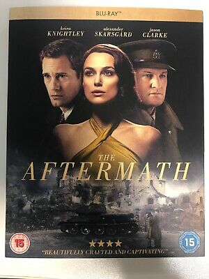 The Aftermath Blu-Ray Bluray 2019 Brand New Sealed With Cover Sleeve