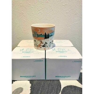 NEW 2019 Moomin Moominvalley mugcup 4 pieces Arabia Valley Park Limited mag mug