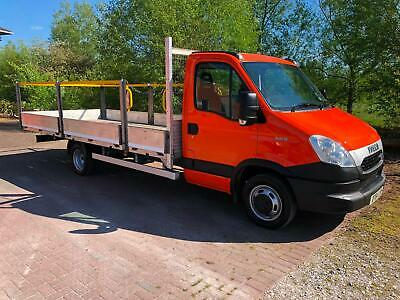 Iveco Daily Dropside 18Ft Scaffolding 2011 61 Reg 77K Low Miles 1 Company Owner