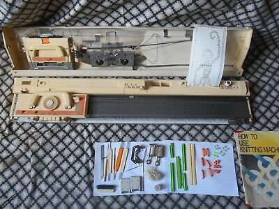 Brother KH 860 Punch Card Knitting Machine VGC -  With Instructions.