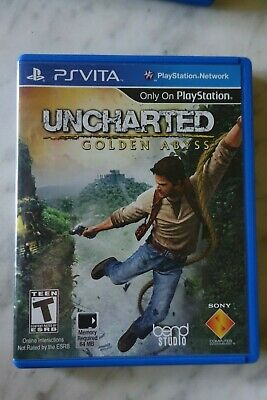 Uncharted Golden Abyss (Sony Play Station Vita, 2012)