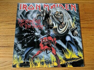 Iron Maiden ~ The Number Of The Beast ~ 2014 BMG 14007V ~ 180 Gram Reissue