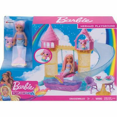 Barbie Dreamtopia Chelsea Mermaid Doll Playground Playset With Accessories *NEW*